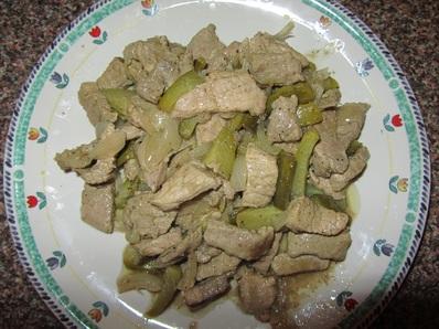 Свински хапки с кисели краставички