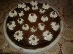 Шоколадова торта с айрян