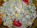 Ориз с пилешко и зеленчуци