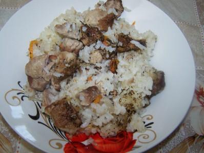 Свинско месо с ориз