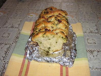 Слоесто хлебче