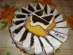 Кейк с три цвята