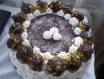 Еклерова торта с шоколад