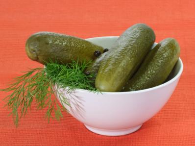 Краставички корнишон за 1 буркан