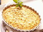 Киш (пикантен пай със сирене и гъби)