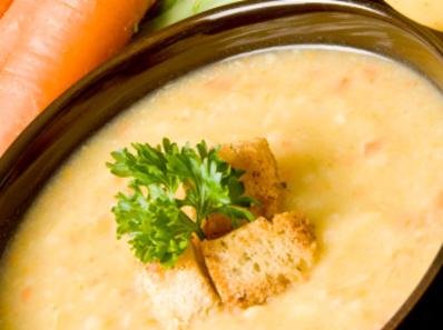 Крем супа от картофи и целина
