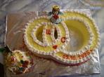 "Торта ""Ангелче на Любовта"""