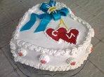 """Торта за """"Св.Валентин"""" (Силвия)"""