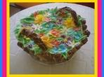 """Торта """"Кошница с пролетни цветя"""""""