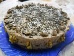 Бисквитена орехова торта