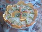 Бисквитена плодова торта (Ади)