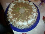 Лесна сметанова торта