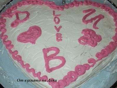 """Торта """"Медена любов"""""""