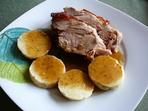 Свинско печено с кнедли