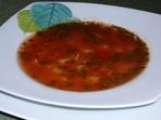 Доматена супа с чубрица