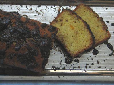 Кейк с шоколадова глазура