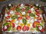 Бърза плодова торта