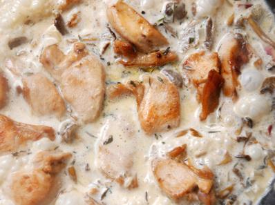 Салата от пилешко месо