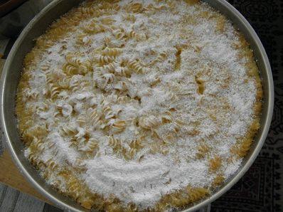Сладки макарони на фурна