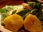Салата от спанак с портокали