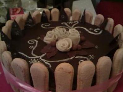 Торта с фондан
