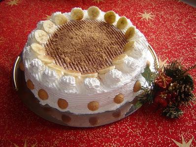 Бърза бананова торта с амаретини