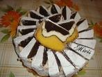 Артистичен кейк с три цвята