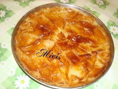 Галактобурек - гръцки сладкиш