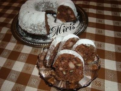 Кекс с дюли и орехи