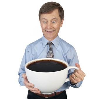 Най, ама най-голямата чаша за кафе