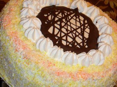 "Торта ""Кокосова наслада"""