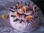 Изкусителна торта с горски плодове