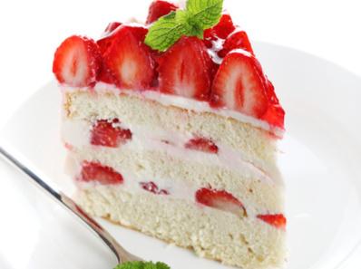 Ягодова торта с готов блат