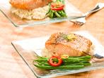 Риба със зелен фасул
