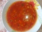 Доматена супа с чушки