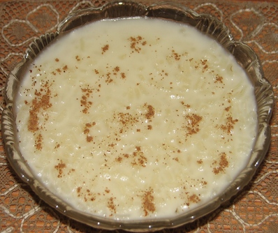 Мляко с ориз и канела