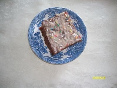 Сладкиш с какао