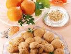 Сладкиш с орехи и портокали